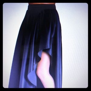 Boston Proper Hi-low Maxi Skirt